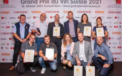 Grand prix du vin Suisse: Notre cuvée des Lions parmi les 6 vins nominés de la catégorie.